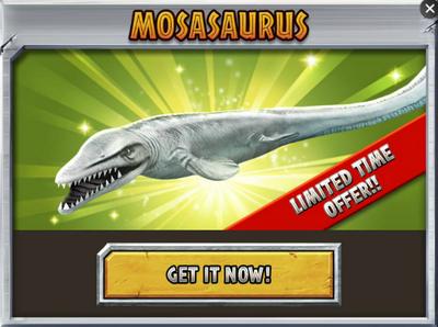 Mosasaurus Promo