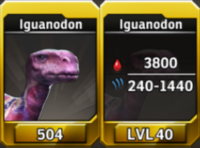 Iguanodon Level 40 Tournament-Battle Arena Profile Picture