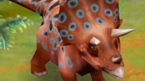 Jurassic Park Builder - Triceratops Jurassic