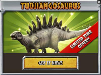 Tuojiangosaurus Promo