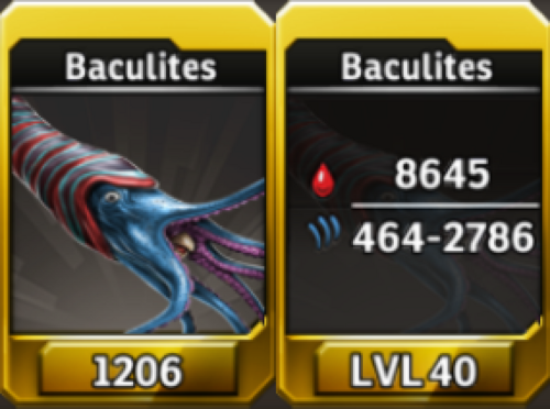 Baculites Level 40 Tournament-Battle Arena Profile Picture