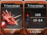 Triceratops Level 40 Tournament-Battle Arena Profile Picture