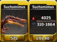 Suchomimus Level 40 Tournament-Battle Arena Profile Picture
