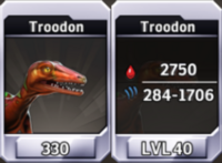 Troodon Level 40 Tournament-Battle Arena Profile Picture