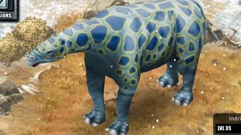 Jurassic Park Builder - Indricotherium Glacier Park LIMITED