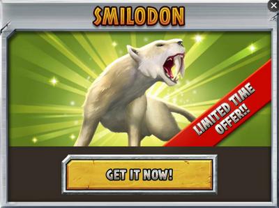 Smilodon Promo