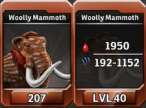 Woolly Mammoth Level 40 Tournament-Battle Arena Profile Picture
