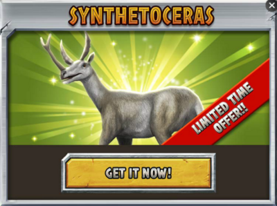 Synthetoceras Promo