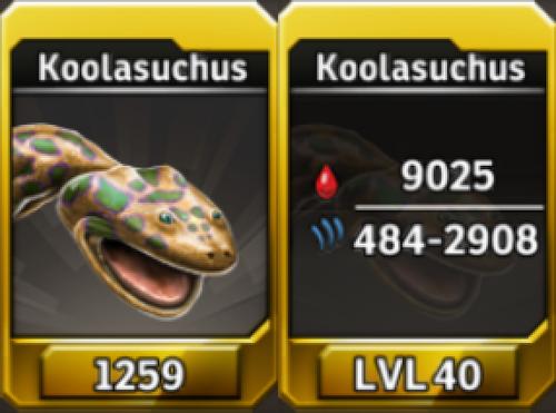 Koolasuchus Level 40 Tournament-Battle Arena Profile Picture