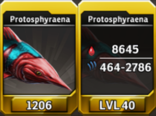 Protosphyraena Level 40 Tournament-Battle Arena Profile Picture