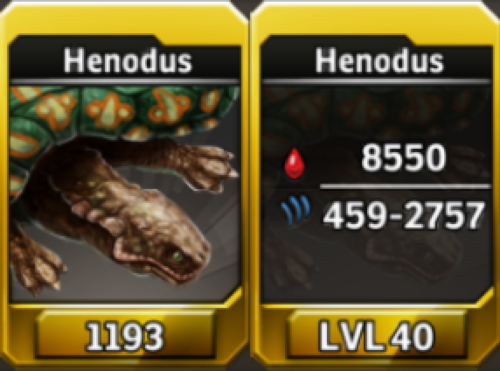 Henodus Level 40 Tournament-Battle Arena Profile Picture