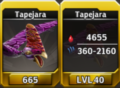Tapejara Level 40 Tournament-Battle Arena Profile Picture