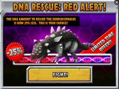 Euoplocephalus DNA Rescue Red Alert! Promo