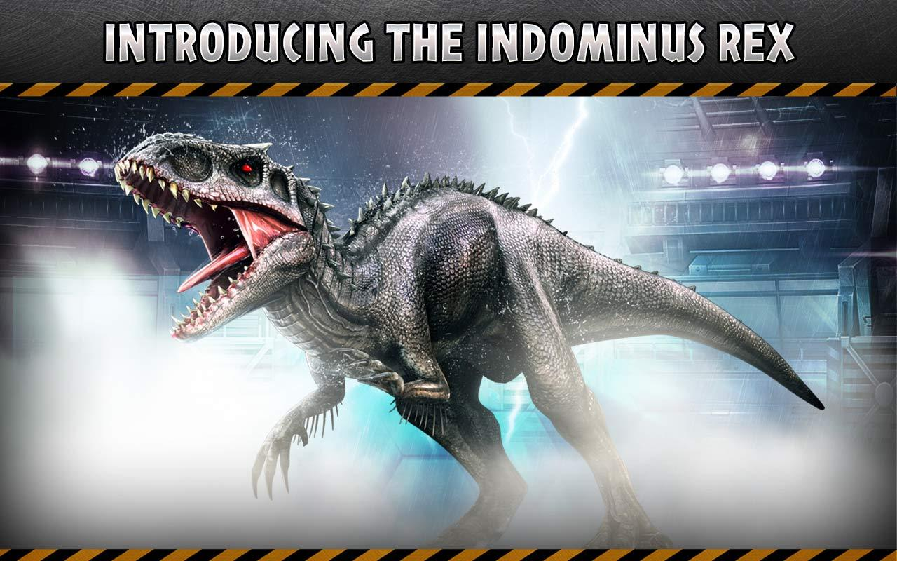 Jurassic World The Game Indominus Rex Vs T | Gameswalls org
