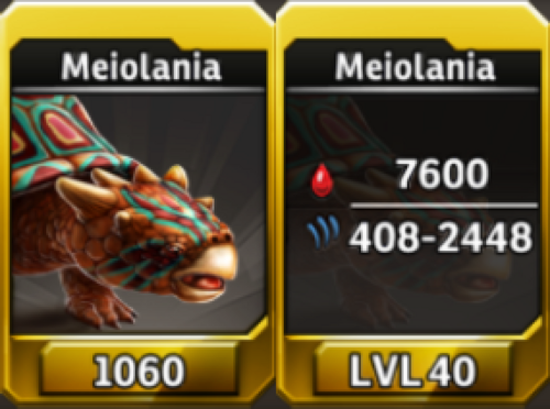 Meiolania Level 40 Tournament-Battle Arena Profile Picture