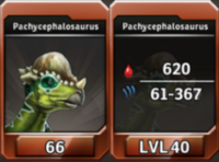 Pachycephalosaurus Level 40 Tournament-Battle Arena Profile Picture