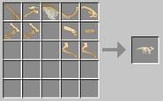 Parasaur skeleton