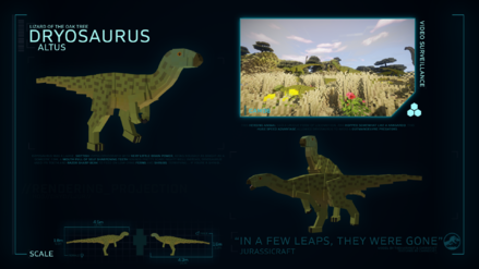 Species profile dryosaurus by jurassicraftmod-dchaacx