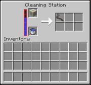 JC screenshot - Cleaning Station GUI