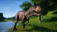 JWE DLC dinosaur Carnotaurus noui