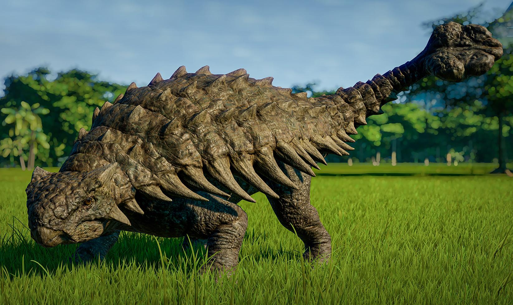 ankylosaurus  jurassic world evolution wiki  fandom