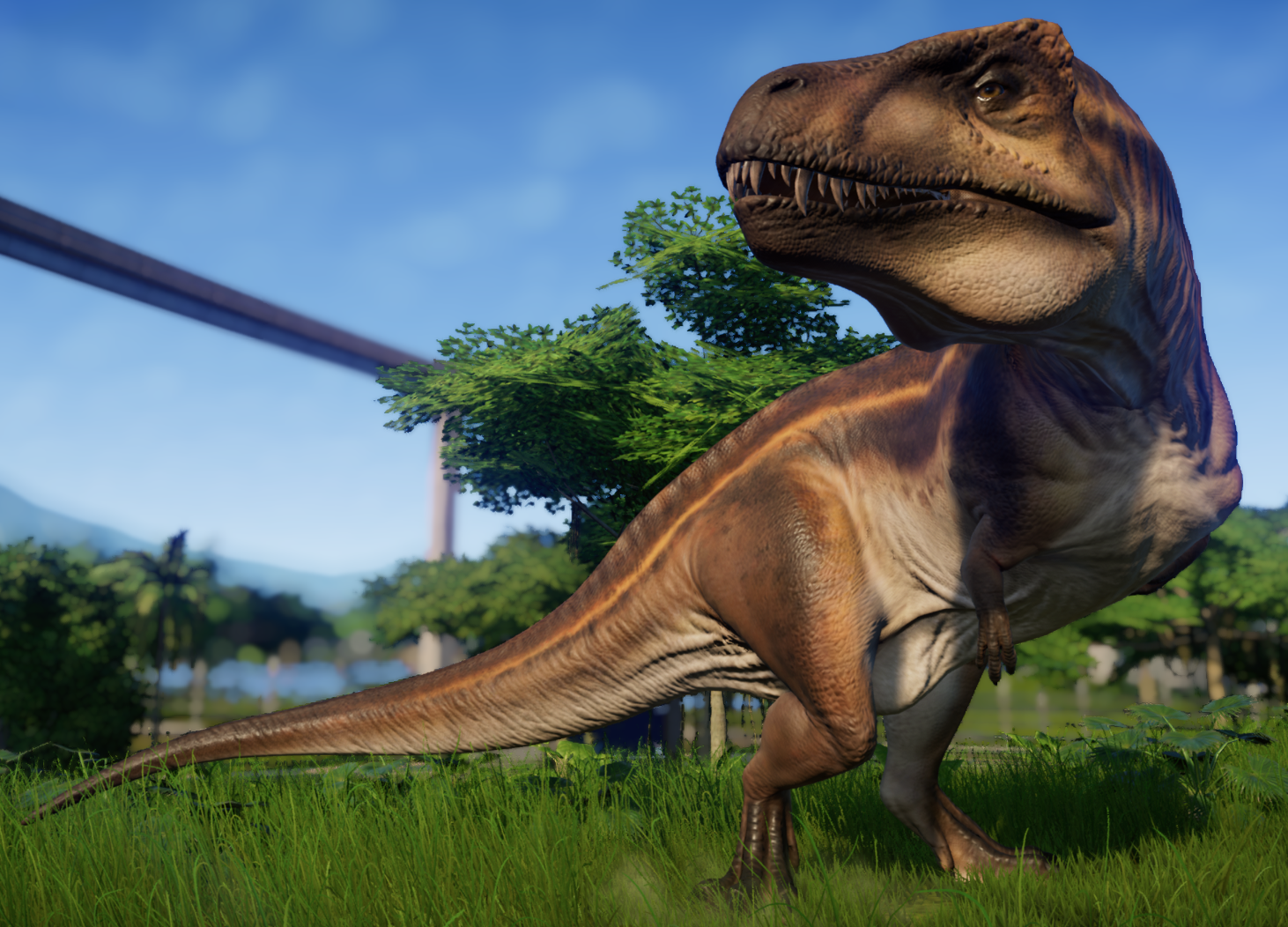 Acrocanthosaurus | Jurassic World Evolution Wiki | FANDOM