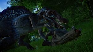 JWE Spinosaurs kills Stego