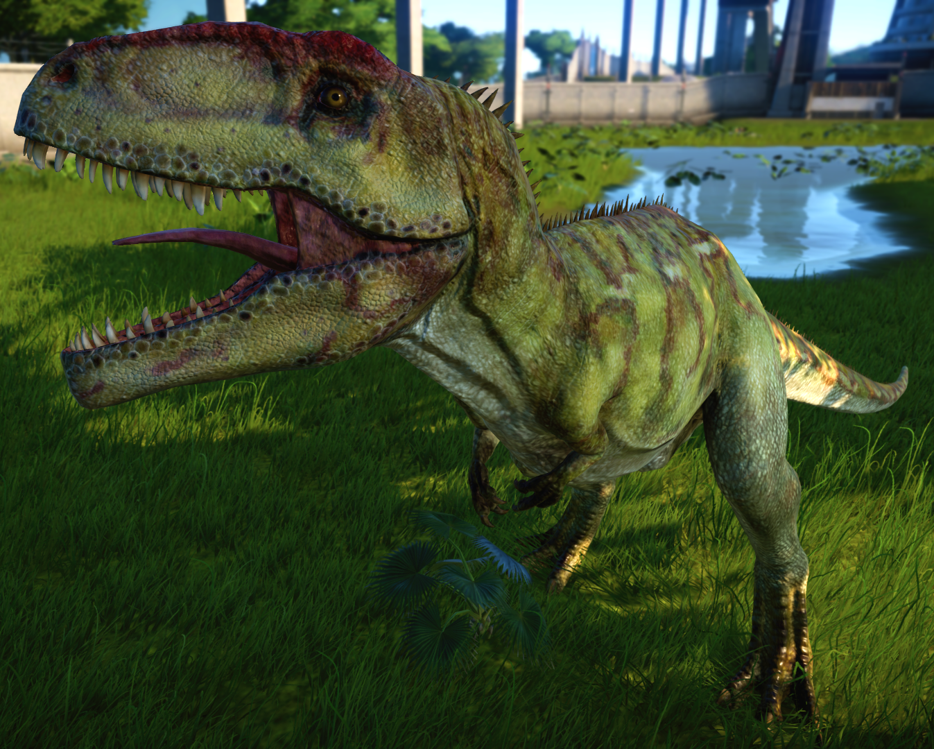 Image result for giganotosaurus jurassic world evolution