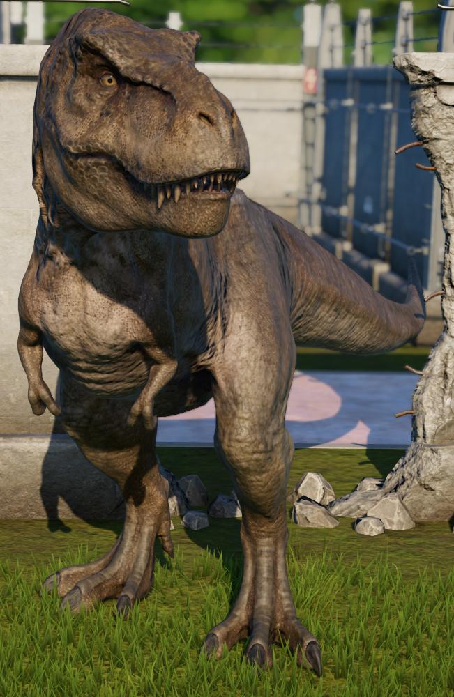 Tyrannosaurus | Jurassic World Evolution Wiki | FANDOM powered by Wikia