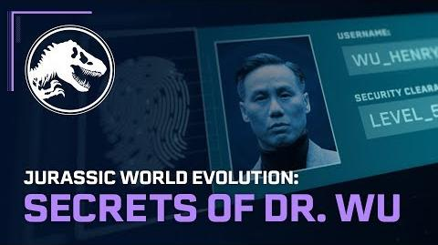 Jurassic World Evolution Secrets of Dr. Wu