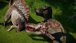JWE Rex vs Spino