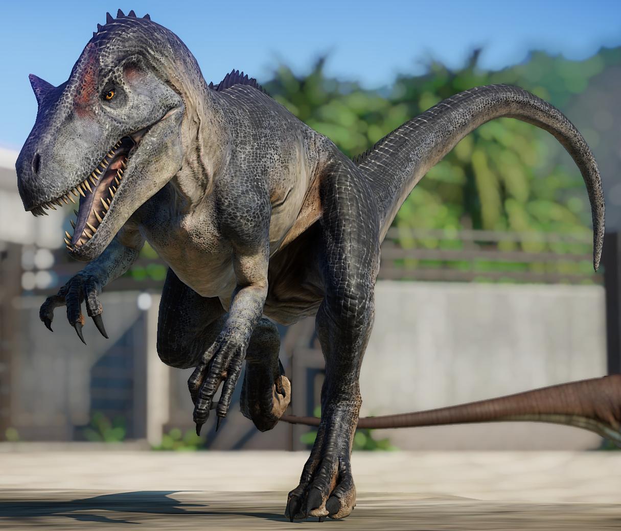 allosaurus  jurassic world evolution wiki  fandom