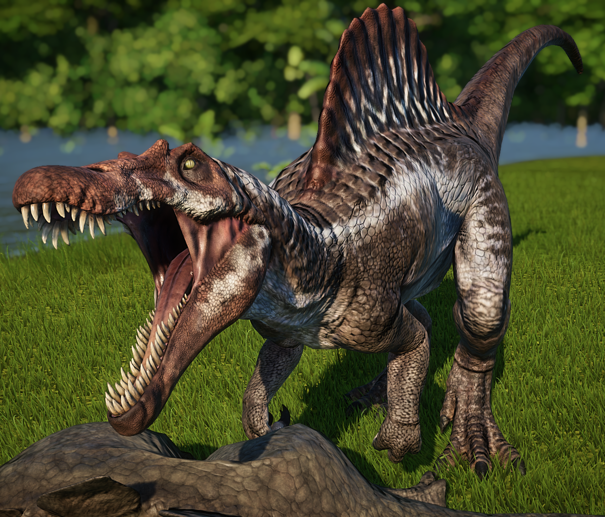 Spinosaurus Jurassic World Evolution Wiki Fandom