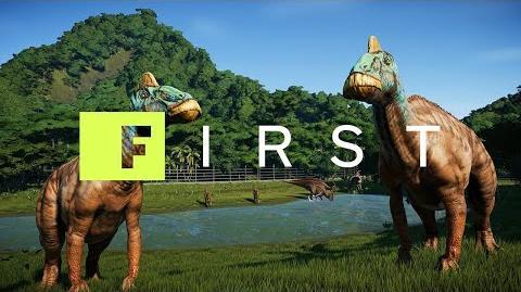 Jurassic World Evolution Isla Tacano Reveal - IGN First