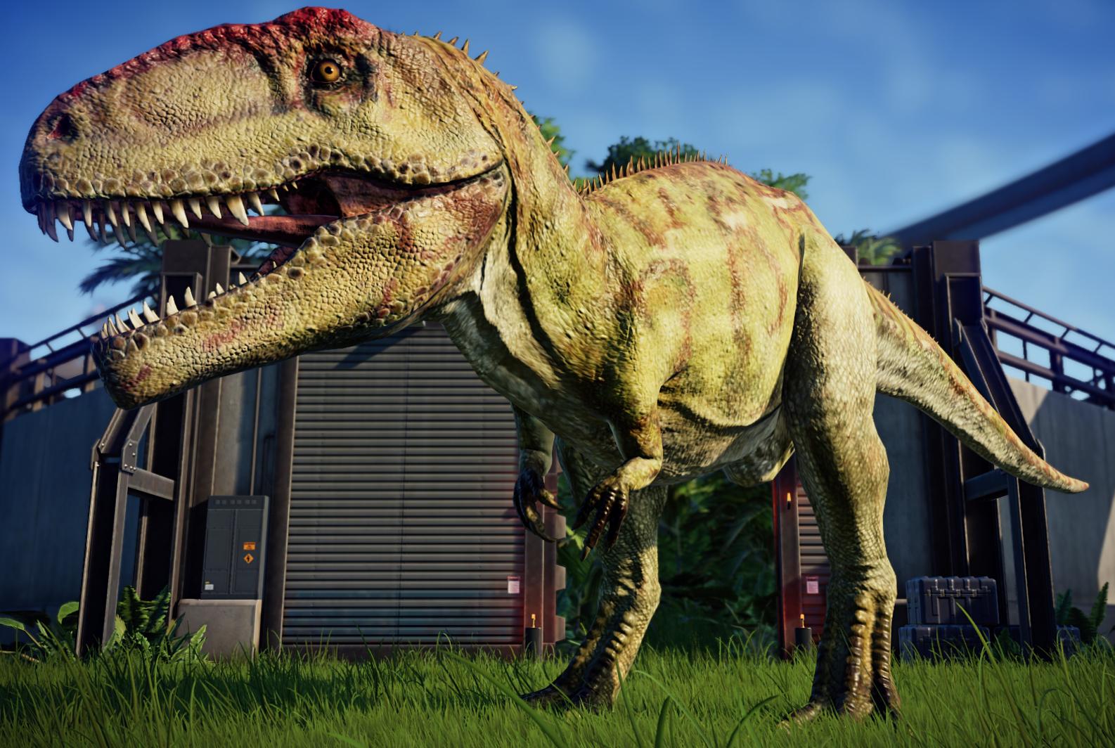 Giganotosaurus | Jurassic World Evolution Wiki | FANDOM