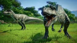 JWE Claires sanctuary Albertosaurus 1