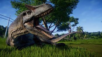 Jurassic World Evolution - Allosaurus 1