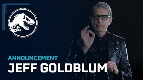 Jeff Goldblum returns as Dr. Ian Malcolm in Jurassic World Evolution!