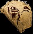 Hadrosaurfossilicon
