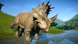 JWE DLC dinosaur Sinoceratops noui
