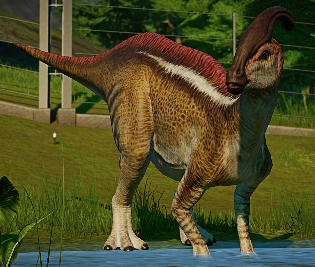 Parasaurolophus Jurassic World Evolution Wiki Fandom