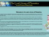 The Lost Library of Florestica