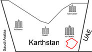 Karthstan Race track