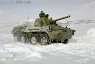 2S23 Nona-SVK Snow