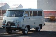 Soviet UAZ mini-van