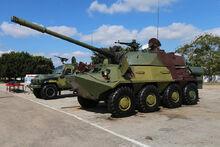 BTR-60 Cannon 1