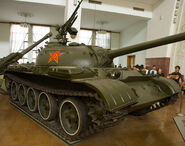 Type 59 tank - front right