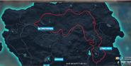 Pastura-Torto ringroad (map)