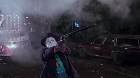 Batman 1989 - Batwing vs Joker's Big Gun