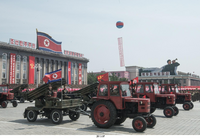 Scando Battle Tractor Mk.2 (north Korean parade)